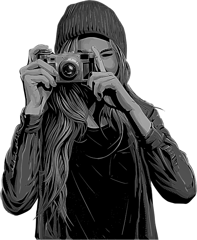 Woman-Taking-Picture